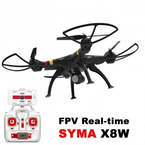 DRONE Syma X8W WIFI FPV RC  2.4Ghz 4CH 6-Axis RTF 2MP HD Camera  29106
