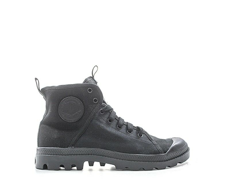 shoes PALLADIUM Homme black Tissu PACAL0193-P043S