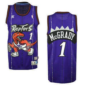 89ff1049ce9 Tracy McGrady  1 Toronto Raptors Adidas NBA Soul Dinosaur Swingman ...