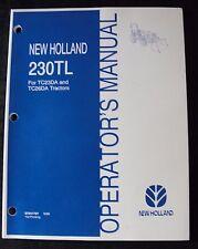 Genuine New Holland Tc23da Tc26da Tractor 230tl Loader Operators Manual