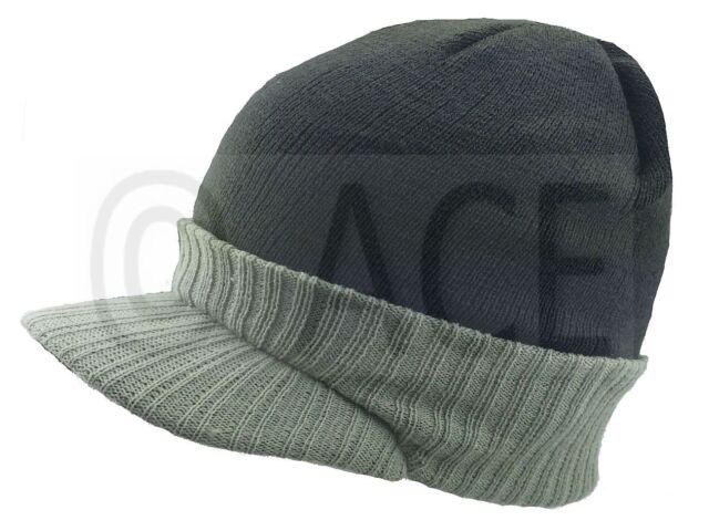 Mens Womens Trendy Fashion Hats Stylish Cap Peak Visor Winter Woolly Beanie  Hat 2ff7f79eaca