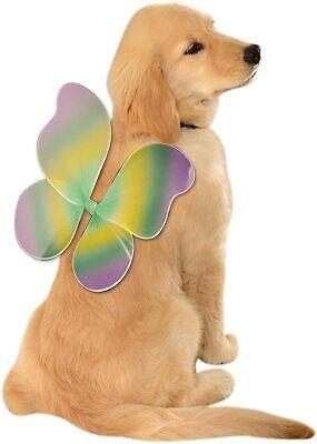 Rubies Elastic Rainbow Pixie Fairy Wings for Pet Dog