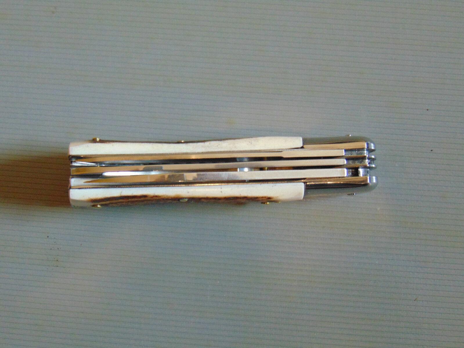 Klappmesser Taschenmesser Taschenmesser Klappmesser Herbertz Jagd-Taschenmesser, 4-teilig, Stahl 1.4116, H 59ff60