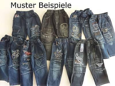 Neue CooLe Jungen Jeans Hosen Gummizug 1-10stück gr104 Super Bequem Hose Wählbar
