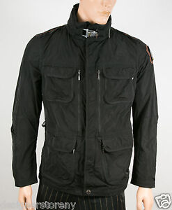 PARAJUMPERS-M-DESERT-541-BLACK-JACKET-COAT-size-Large