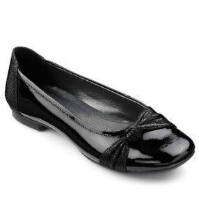Hotter Sylvie Ballerina Shoe Patent