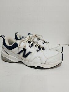 NEW BALANCE 609 WHITE/NAVY BLUE RUNNING