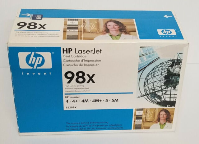 Genuine HP 98X Black High Yield Toner Cartridge 92298X