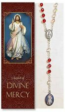 Divine Mercy Chaplet (PS339) (rosary) NEW 18.5 Inches