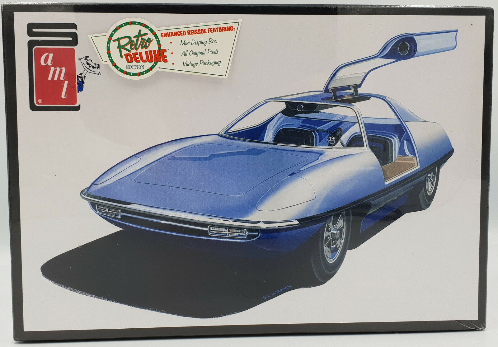 CARS   PIRANHA SUPER SPY CAR 1 25 SCALE MODEL KIT MADE BY AMT IN 2015