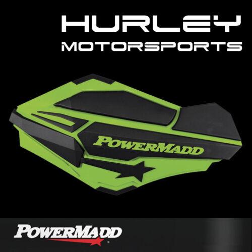 GREEN//BLACK POWERMADD SENTINAL HANDGUARDS