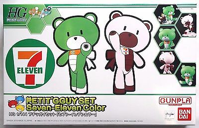 BANDAI HG 1/144 Petit'gguy 7-Eleven two color set limited scale model kit