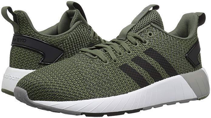 Uomini adidas questar da scarpa da corsa b44813 Coloreeee base verde   nero   grigio nuovo di zecca | Acquista  | Gentiluomo/Signora Scarpa