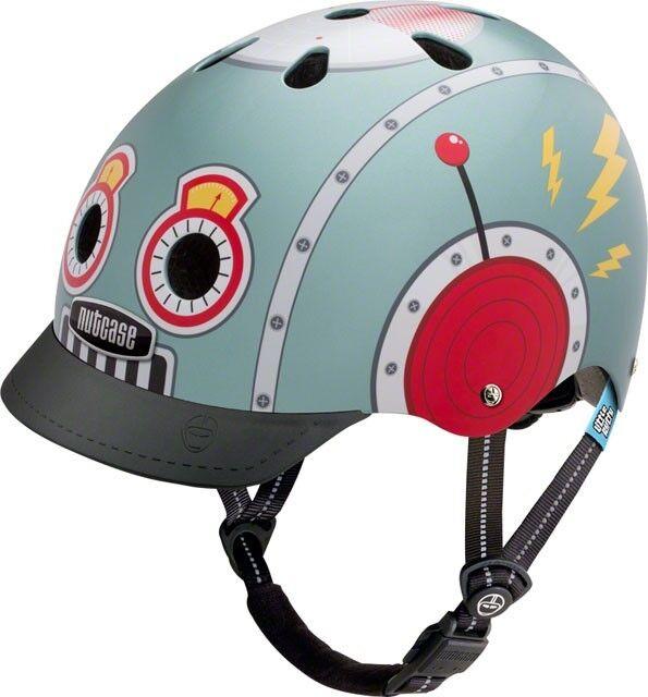 Nutcase Little Nutty Helmet  Tin Robot XS   best quality best price