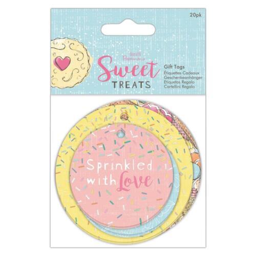 20pk Papermania Etiquetas De Regalo-Sweet Treats