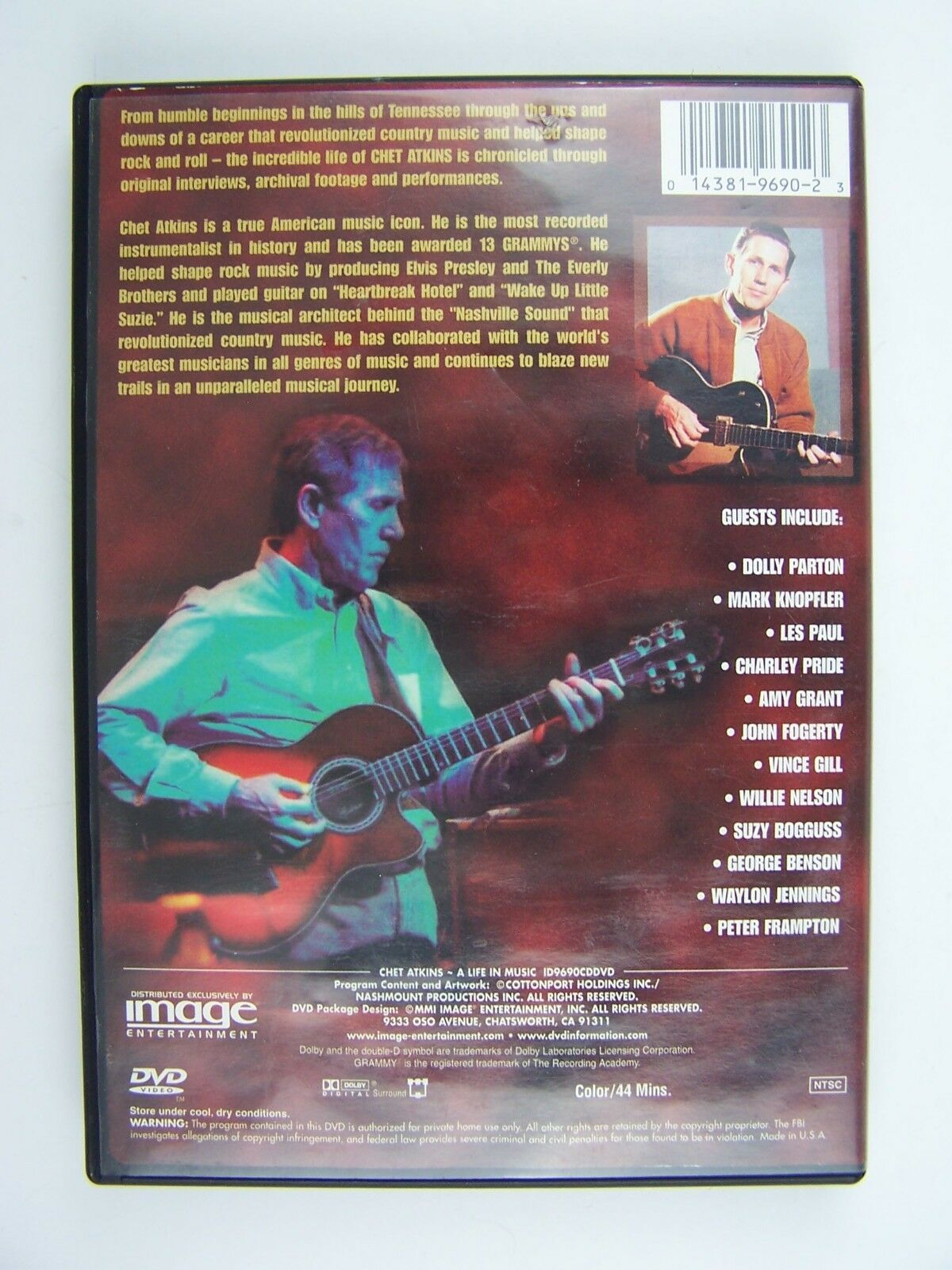 Chet Atkins - A Life in Music DVD 14381969023
