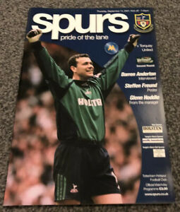 TOTTENHAM-HOTSPUR-V-TORQUAY-UNITED-PROGRAMME-13-09-01-LEAGUE-CUP-2ND-ROUND