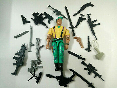 """3.75/"""" Gi Joe  Lanard  the Corps Solider with 5pcs weapons Action Figure"""