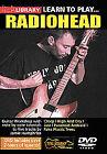 Radiohead - Learn To Play Radiohead (DVD, 2007)