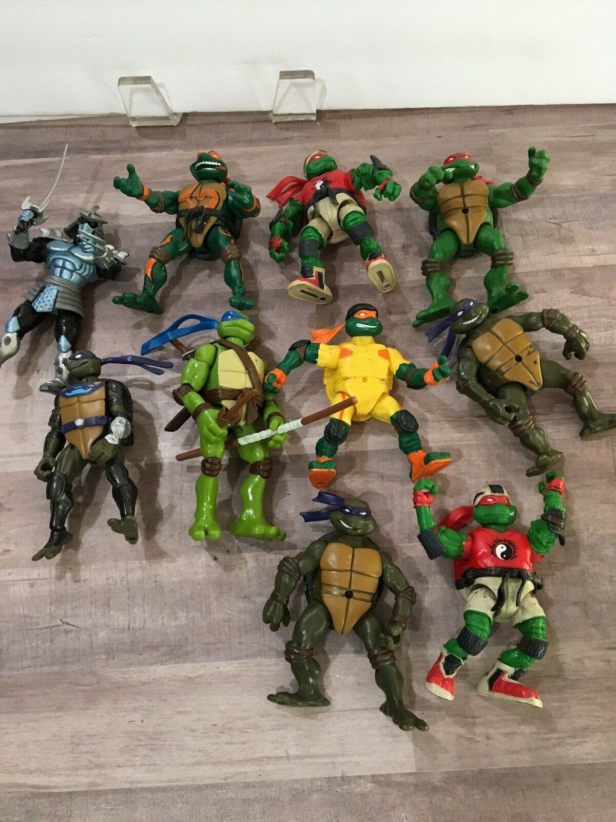 Mutant Ninja Turtle mixed Lot 10 Action Figures 6  Tall Mirage Studios 2000-2003