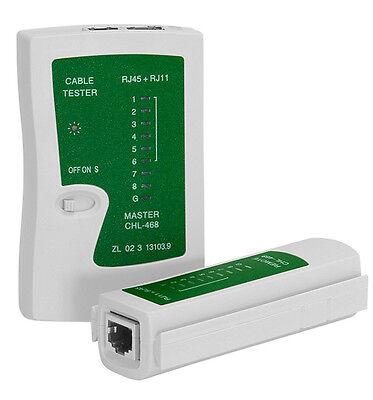 Tester Cavo Di Rete Telefonico Lan Rj45 Rj11 Network Ethernet Master Remoto Pc