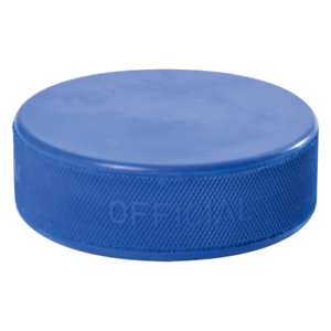 Eishockey, Sher-Wood Kinder-Puck leicht//blau Puck Streethockey Inlinepuck