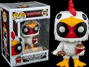 Vinyl Figure DAMAGED OUTER BOX Funko Deadpool in Chicken Suit Pop