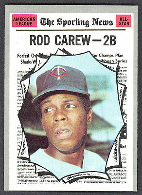 1970 Topps #453 Rod Carew Minnesota Twins Baseball Card