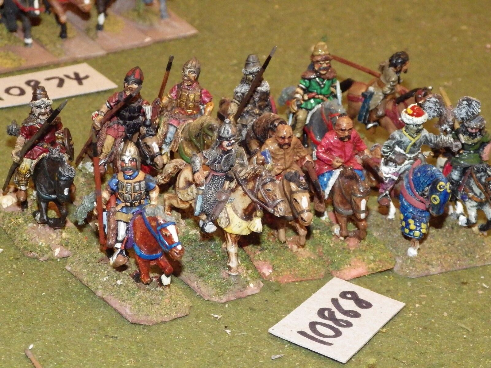 25mm dark ages   hun - cavalry 12 cavalry - cav (10868)