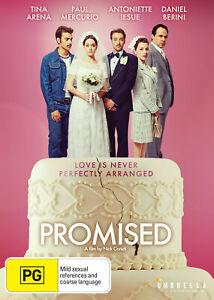 Promised-DVD-Tina-Arena-Paul-Mercurio-NEW-SEALED
