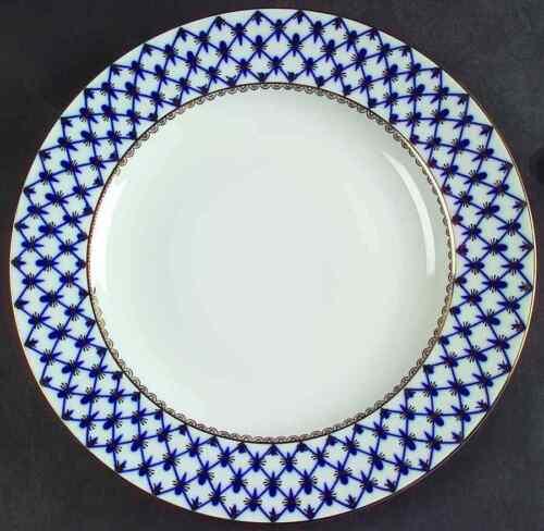 """Lomonosov COBALT NET 10 5//8/"""" Dinner Plate 2219695"""