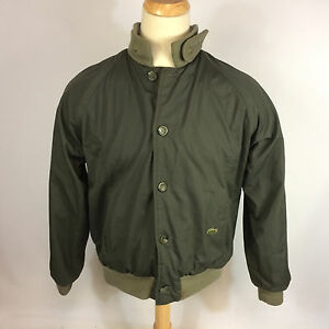 Vintage Green Lacoste Reversible Windbreaker Jacket Zrc9Ps5