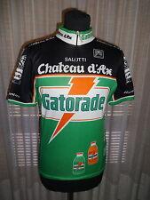 GATORADE CHATEAU D'AX MAGLIA CICLISMO VINTAGE GIANNI BUGNO 1992 NALINI JERSEY