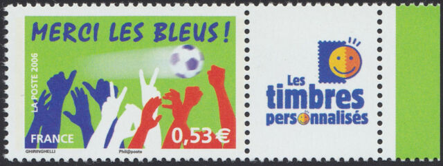 2006 FRANCE N°3936A** PERSONNALISE Football