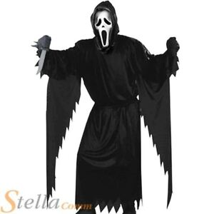 Halloween Fancy Dress Demon Ghost Childs Girl Boy Dress Up Costume Outfit Party