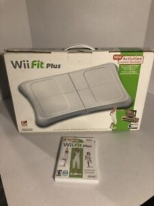 Wii Fit Balance Board with Wii Fit Plus Game - In Box - Tested