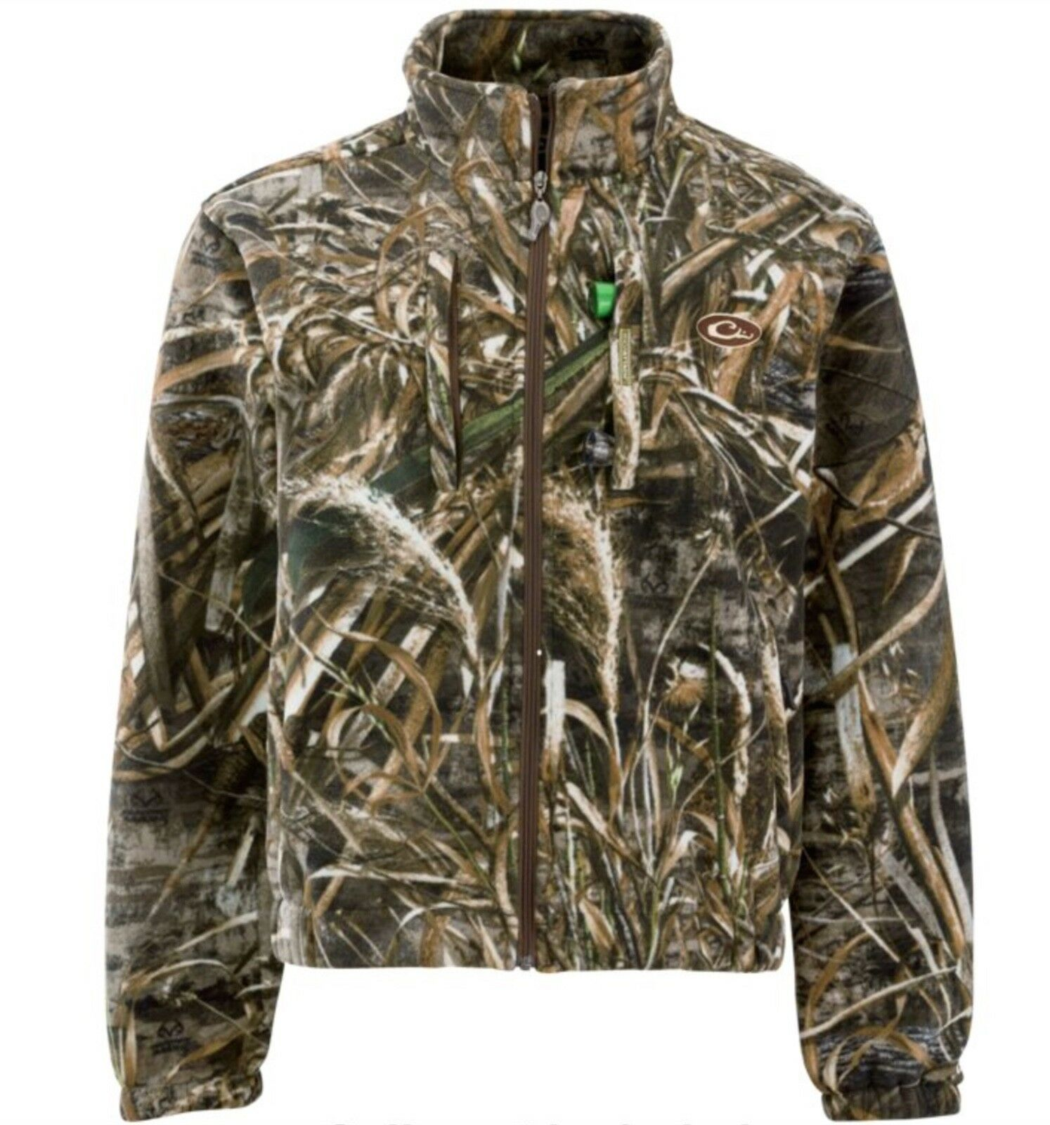 Drake Wasservögel MST Layering Fleece Full Zip Jacket Wasserdicht & amp;Winddichtes DW215