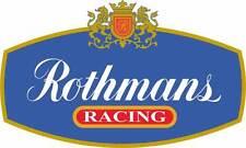 Motorsport Car Motorbike Exterior Vinyl Stickers Rothmans Racing Decals GP