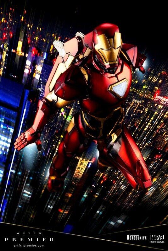 2019 KOTOBUKIYA ARTFX PREMIER Iron Man 1 10 PVC Tony Stark  Iron Man  1 MARVEL
