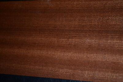 Sapele Ribbon Stripe Wood Veneer sheets 7.5 x 36 inches                 4712-4