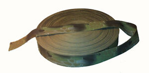 """Double Sided Kryptec Highlander Camo Military Specification 50mm / 2"""" Webbing"""