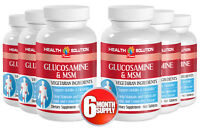 Glucosamine & Msm. Mobility, Joints Support, Cartilage (6 Bottles, 360 Tablets)