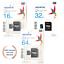 thumbnail 1 - 16GB 32GB 64GB ADATA Premier microSDXC memory card UHS-I Class 10 with SDadapter