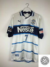 Jubilo Iwata NANAMI #7 00/01 Away Football Shirt (XL) Soccer Jersey