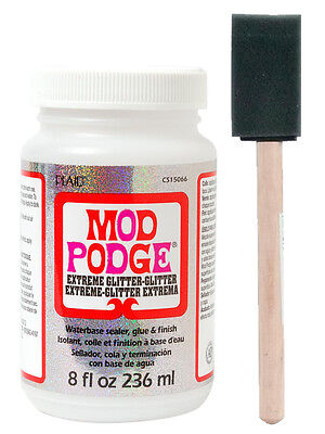 ModgePodge Gloss 8oz with Free Foam Brush