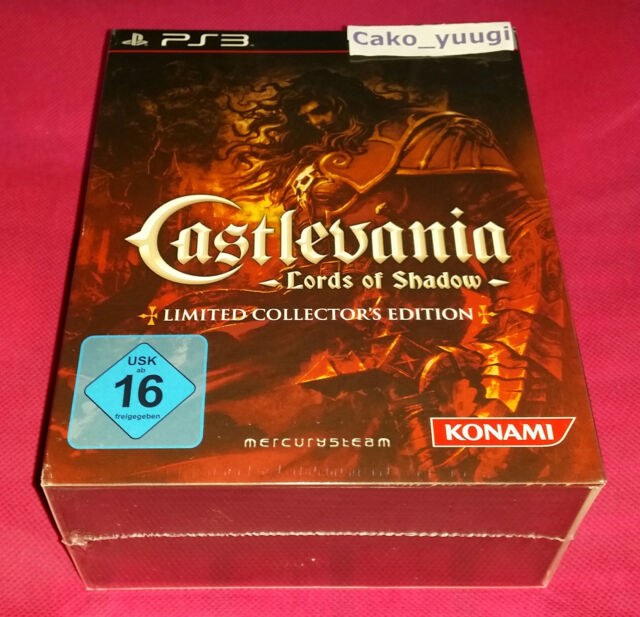 CASTLEVANIA LORDS OF SHADOW COLLECTOR SONY PS3 VERSION ALLEMANDE NEUF SCELLE