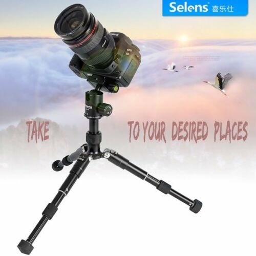 Professional Camera Mini Tripod Stand Holder Mount for iPhone Samsung Cell Phone