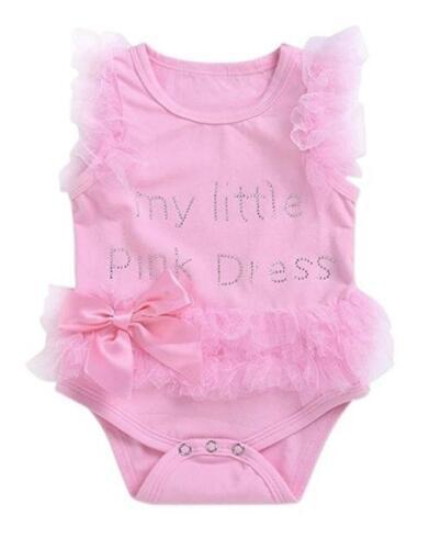 My little Pink Dress tutu bodysuit