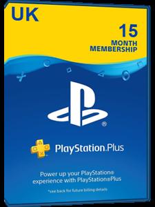 7a04d07ae2f903 Playstation PLUS - PSN PLUS Card - 15 months - United Kingdom | eBay