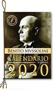 Calendario Storico Carabinieri 2020.Dettagli Su Calendario Storico Benito Mussolini 2020 Il Duce Bellissimo Da Collezione